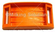 MS Transponder Holder Flat Type Orange
