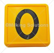 Marker Tag No 0 (Single) Yellow