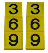 MS Marker Tag Pair (3 Digits)