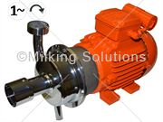 MS Milk Pump 0.75kW 1Ph 230V 50Hz Left Hand