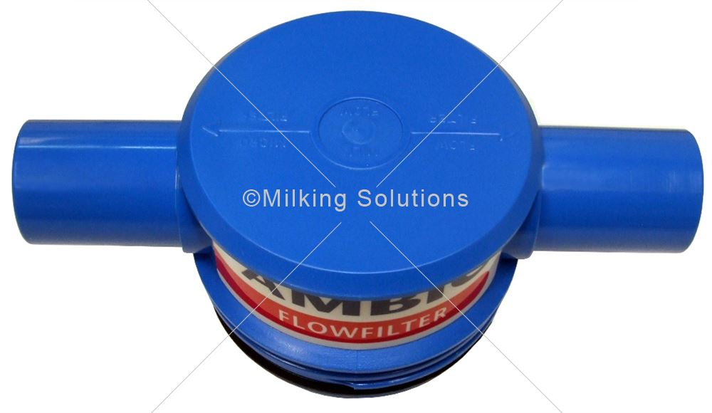 MS Connector Unit 40mm Flow Filter