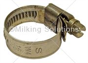 Hose Clip Worm Drive Jubilee 16 x 27mm S/S