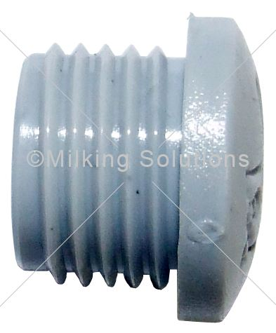 MS Cover Cable Gland Nylon PG7 Threaded Grey