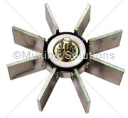 MS Impeller Assy S/S LH 96mm 8 Blade