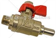MS Tap Ball Valve ¼ inch Measurer Maxivac 5
